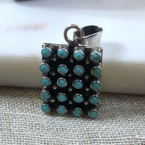 Jewelry - Vintage Turquoise Pendant